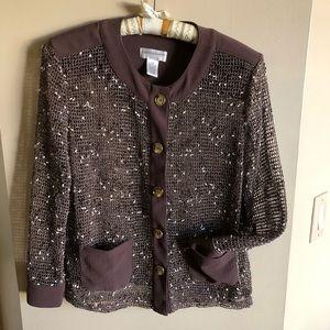 Drapers & Damons knit jacket/shell